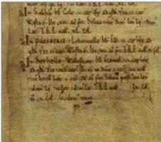 Pilsbury Grange in Domesday Book