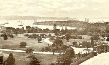 Sydney Harbour in the 1880s